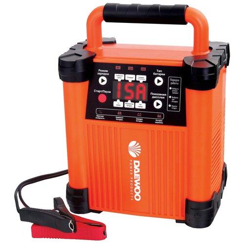 Фото - Зарядное устройство Daewoo Power Products DW 1500 оранжевый пылесос автомобильный daewoo power products davc100 черный оранжевый