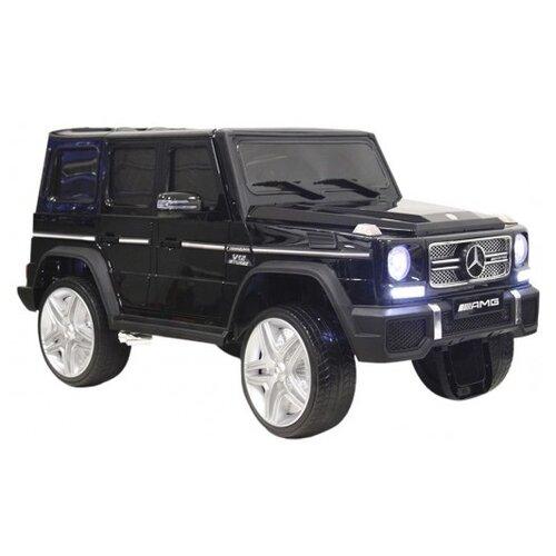 Купить RiverToys Автомобиль Mercedes-Benz G65 AMG 4WD, черный, Электромобили