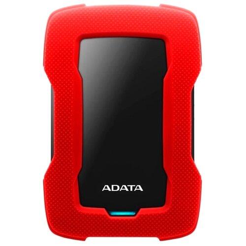Фото - Внешний HDD ADATA HD330 1 TB, красный внешний hdd adata hd710 pro 2 tb красный