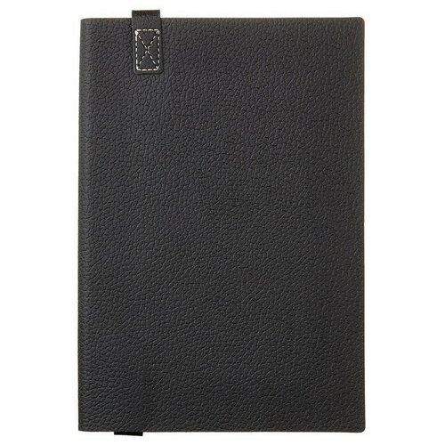 Купить Ежедневник недатированный черный A5, 136 л., 147Х214мм, TREND, Bruno Visconti, Ежедневники