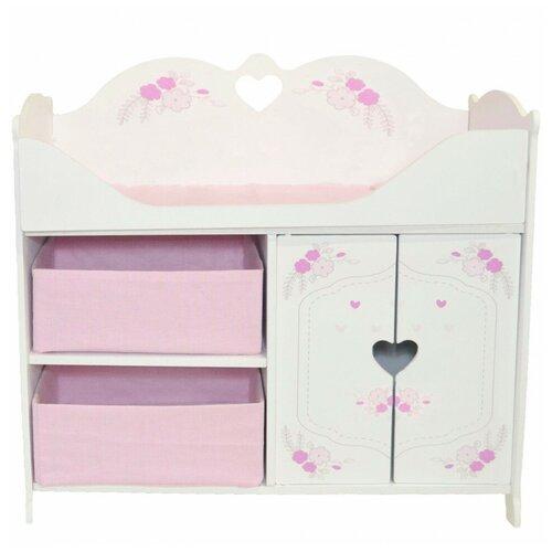 Купить Кроватка-шкаф для кукол PAREMO Розали Пастель PRT320-04, Мебель для кукол