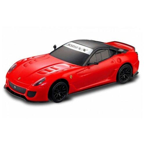 Фото - Радиоуправляемая машинка Ferrari 599XX масштаб 1:20 MJX 8133 радиоуправляемые игрушки mjx радиоуправляемый автомобиль 1 20 ferrari 599xx