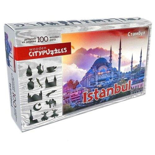 Фото - Пазл Нескучные игры Citypuzzles Стамбул (8236), 100 дет. пазлы нескучные игры деревянный пазл citypuzzles лондон