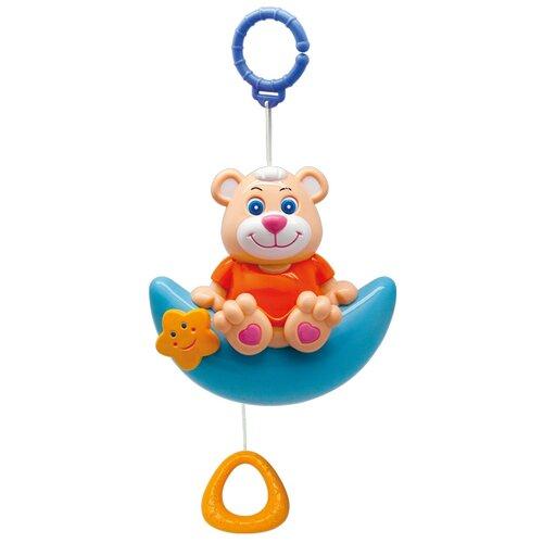 Купить Подвесная игрушка Goodway Мишка на луне (Y12803079) голубой/бежевый, Подвески