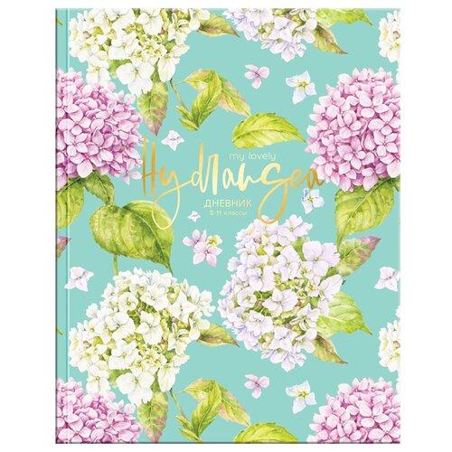 ArtSpace Дневник Цветы. Gentle flowers разноцветный