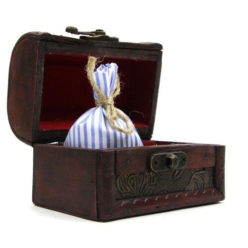 Ароматическое саше Midzumi Притяжение, сундук сувенирный, малый