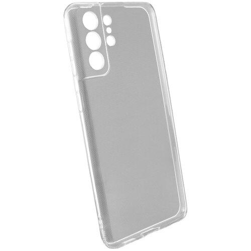 Защитный чехол для Samsung Galaxy S21 ULTRA / бампер / на Самсунг Гелакси С21 Ультра / Прозрачный