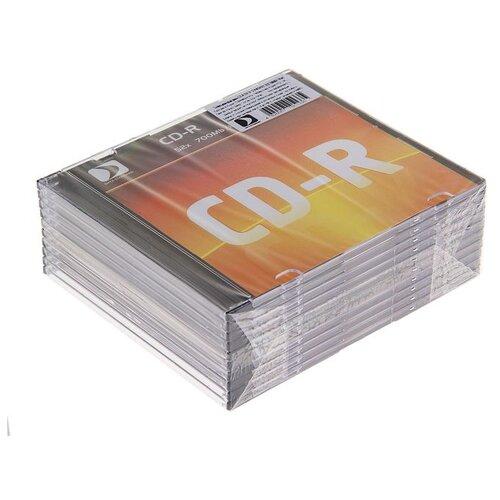 Диск CD-R Data Standard 52x 700 Мб Slim 10 шт 1198406