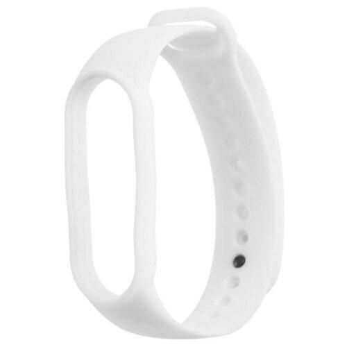 Ремешок силиконовый Krutoff для Xiaomi Mi Band 5 белый 5532397