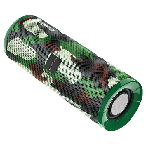 Портативная акустика Borofone BR1, Camouflage Green портативная акустика borofone br5 adventure black
