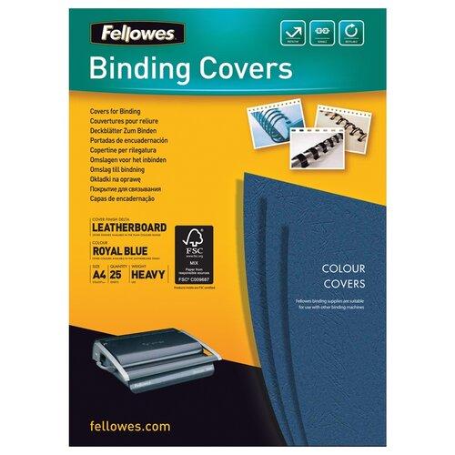 Фото - Переплетная крышка Fellowes FS-53739 синий 25 шт. переплетная система renz dtp 340 m