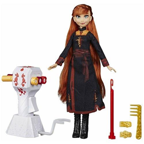 Кукла Hasbro Disney Princess Холодное сердце 2 Магия причесок Анна, E7003