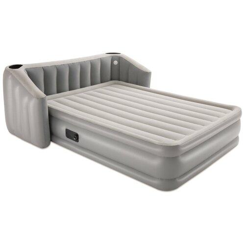 Надувная кровать Bestway Fullsleep Wingback (67620 BW), серый