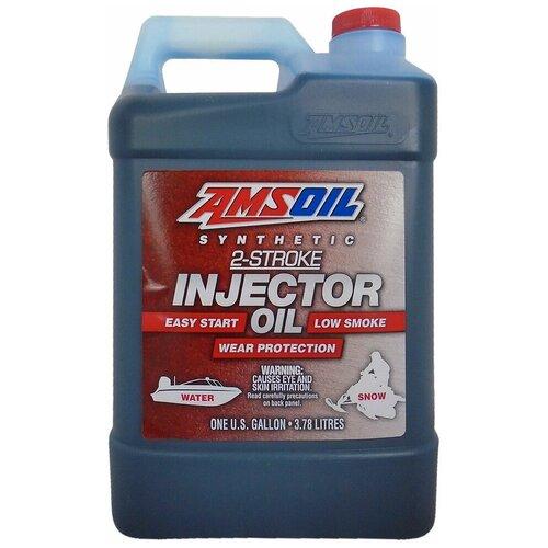 Фото - Синтетическое моторное масло AMSOIL Synthetic 2-Stroke Injector Oil, 3.78 л синтетическое моторное масло amsoil synthetic 2 stroke injector oil 3 78 л