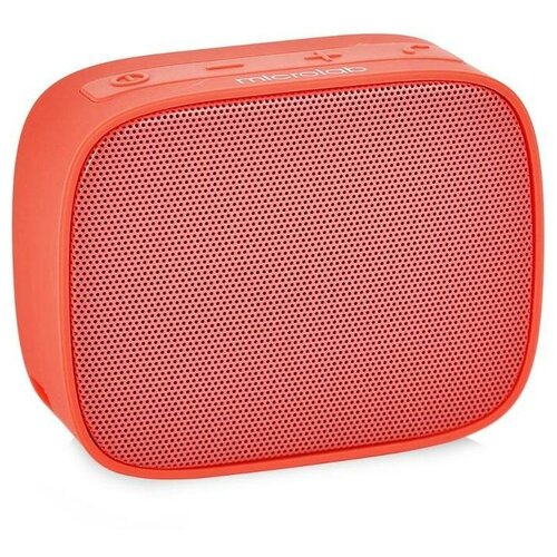 Портативная акустика Microlab MD661BT, red