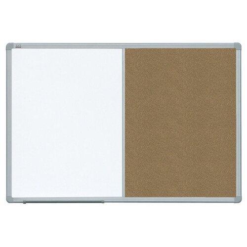 Фото - Доска магнитно-пробковая 2x3 TCASC96 (60х90 см) коричневый/белый доска пробковая 2x3 60x90cm tc96