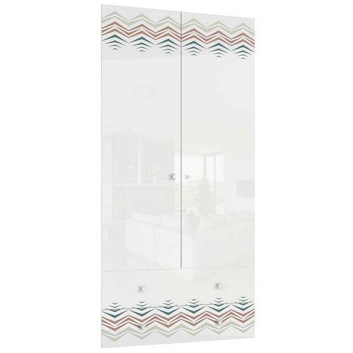 Фасад Stolline Модерн-Абрис СТЛ.329.04 для шкафа белый глянец