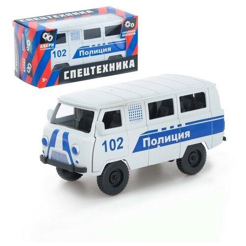 Фото - АВТОГРАД Машина инерционная Микроавтобус Полиция, №SL-02761K 4409981 автоград машина инерционная тигр мчс sl 02761p 4409984