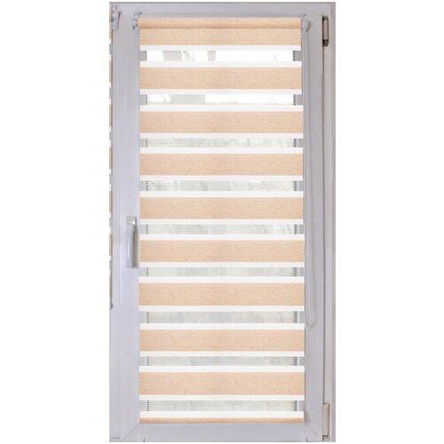 Рулонная штора LM DECOR Грация LB 10-11 миниролло, 64х215 см
