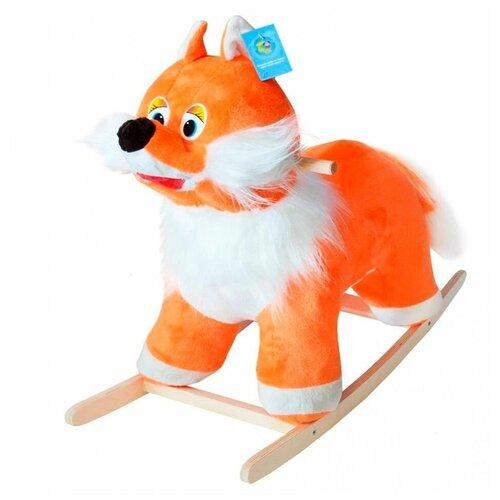 Купить Качалка Тутси Лиса (297-2011) оранжевый, Каталки и качалки