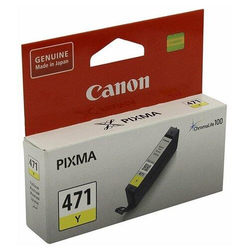 Фото - Картридж Canon CLI-471Y (0403C001) картридж canon cli 471y 0403c001