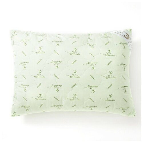 Подушка Этель Бамбук (771552) 50 х 70 см зеленый