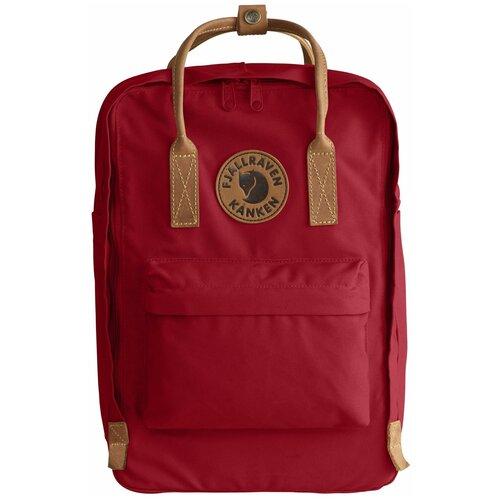 Фото - Городской рюкзак Fjallraven Kånken No.2 Laptop 15 18, deep red рюкзак fjallraven kånken no 2 laptop 15 black edition 18 черный