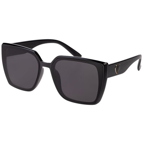 Солнцезащитные очки женские/Очки солнцезащитные женские/Солнечные очки женские/Очки солнечные женские/21kdgaer1202129c5vr черный/Vittorio Richi/Кошачий глаз/модные