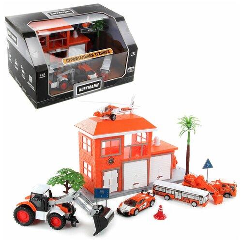 Купить Набор из машин HOFFMANN 72308 Строительная техника , Машинки и техника