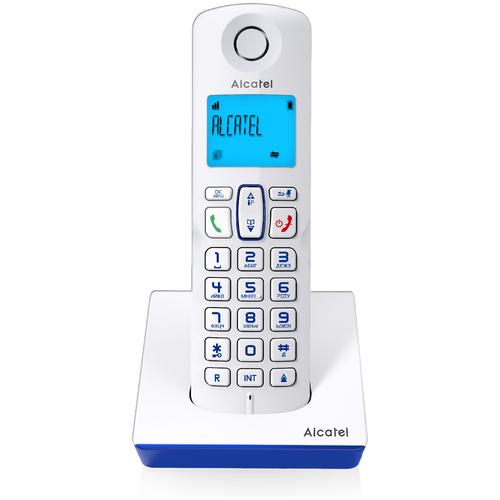 Радиотелефон Alcatel S230 белый