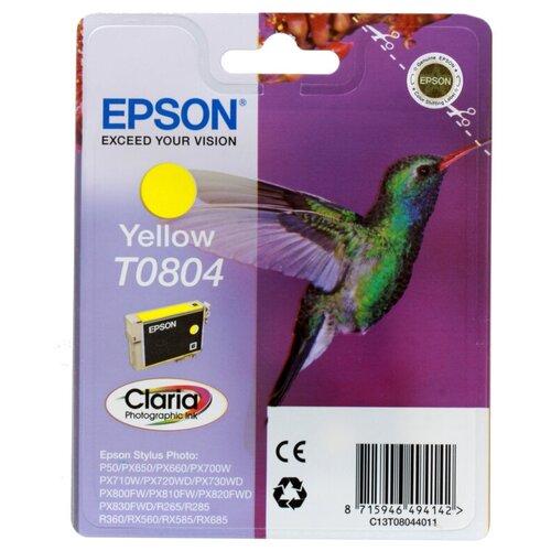 Фото - Картридж Epson C13T08044011 процессор intel g3220 cpu 3 0g 1150 h81 b85