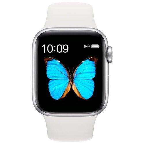 Умные часы BandRate Smart BRST55 серебристый/белый
