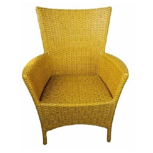 Кресло Кипр, плетеное из искусственного ротанга ива