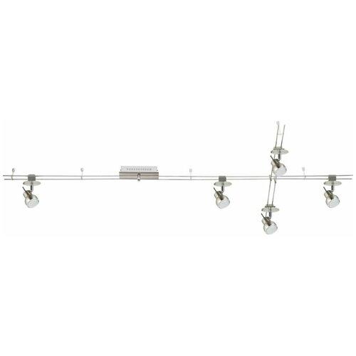 Трек-система De Markt 550011605, 20 Вт, 5 ламп светильник трек de markt 550011605 5 4w led