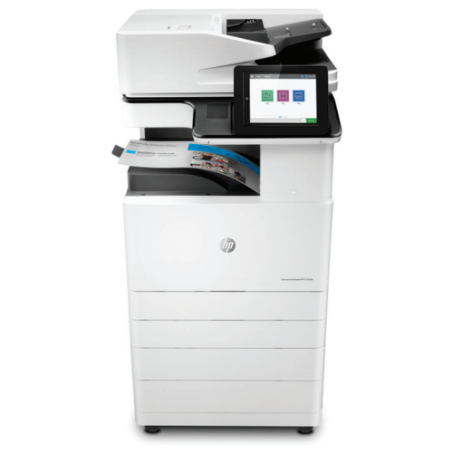 МФУ HP Color LaserJet Managed MFP E77825dn, белый