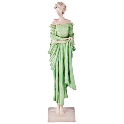 Фото - Статуэтка Lefard Пастель, 48 см белый/зеленый статуэтка lefard пастель 48 см белый зеленый