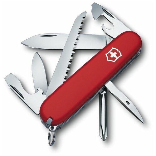 Нож многофункциональный VICTORINOX Hiker красный