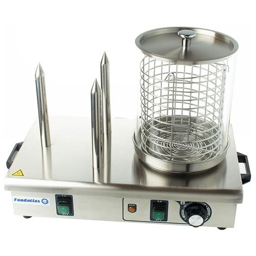 Аппарат для хот-догов Foodatlas HHD-03 нержавеющая сталь