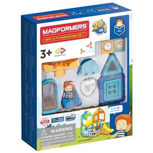 Фото - Конструктор Magformers House 705008 Площадка Макса конструктор magformers my first 63144 желтый багги