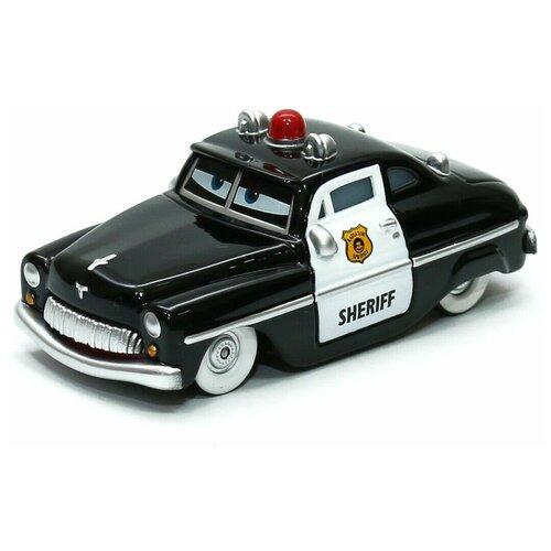 Фото - Легковой автомобиль Mattel Тачки Шериф (DRD52/DTV04), 12.5 см, черный легковой автомобиль mattel