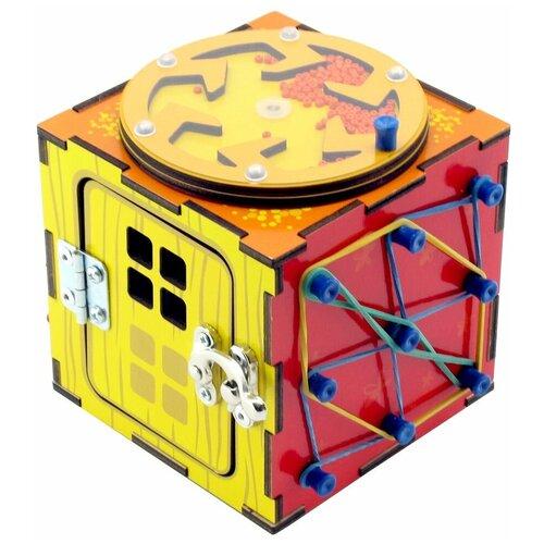 Бизиборд PAREMO Бизи-Куб PE720-202 разноцветный