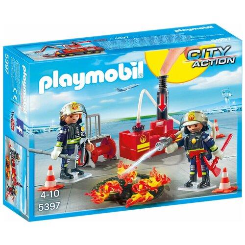Набор с элементами конструктора Playmobil City Action 5397 Пожарный насос