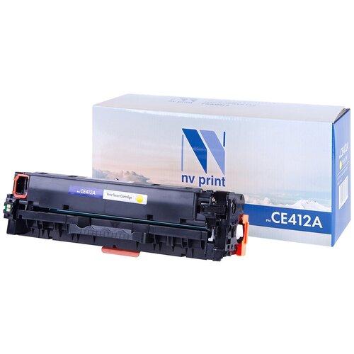 Фото - Картридж NV Print CE412A для HP, совместимый картридж nv print ce412a для hp совместимый