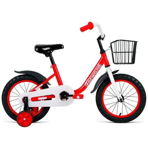Детский велосипед FORWARD Barrio 14 (2021) красный (требует финальной сборки)