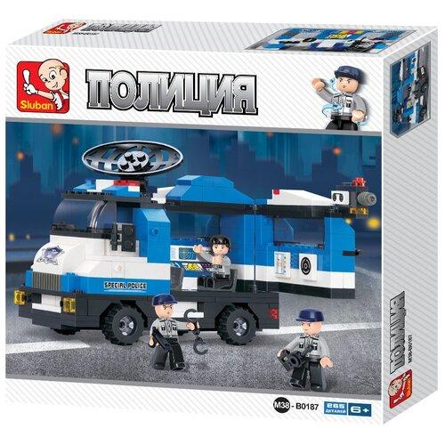 Конструктор SLUBAN Полицейский спецназ M38-B0187