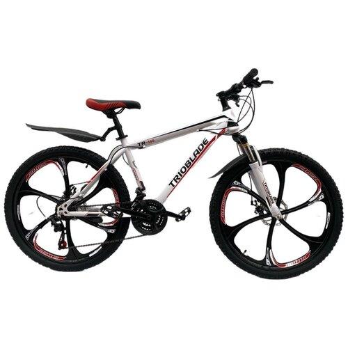 Горный велосипед на литых дисках TrioBlade White