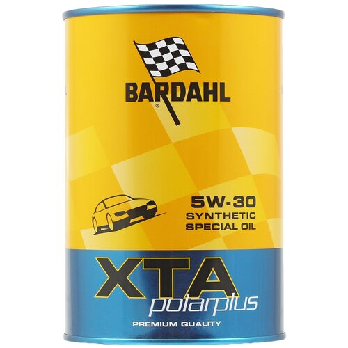 Синтетическое моторное масло Bardahl XTA Polarplus 5W-30 Full SAPS, 1 л