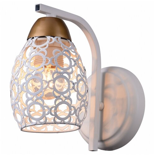 Фото - Настенный светильник Toplight Mavis TL3810B-01WH, 40 Вт настенный светильник toplight gertrude tl1138 1w 40 вт