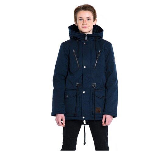 Купить Парка для мальчика Talvi 88320, размер 140/68, цвет темно-синий, Куртки и пуховики