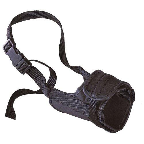 намордник для собак ferplast safe medium обхват морды 20 25 см черный Намордник для собак Ferplast Safe Mini, обхват морды 10-15 см черный